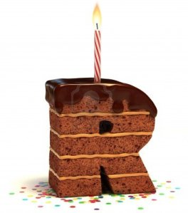 12331636-letter-r-shaped-chocolate-birthday-cake-with-lit-candle-and-confetti-isolated-over-white-background-er